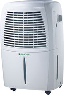 - 50-Pint Dehumidifier - White