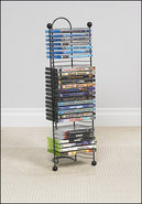 - 32-Disc Nestable DVD/Blu-ray Disc Tower - Gunmet