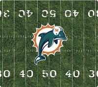 - Miami Dolphins Mouse Pad - Black