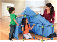 - Build and Play 77-Piece Construction Fort Set