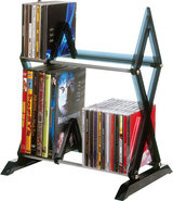 - Mitsu 2-Tier Media Rack - Smoke