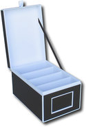 - Photo Organizer Box - Black/White