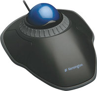 - Orbit Trackball with Scroll Ring - Black/Blue