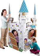 - Color Me Cardboard Castle