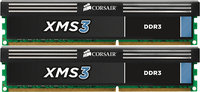 - XMS3 2-Pack 8GB CL9 DDR3 DIMM Desktop Memory Kit