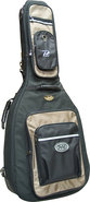 - 906 Dreadnought Guitar Bag - Black/Beige