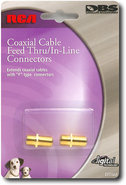 - Coaxial Cable In-Line Connectors