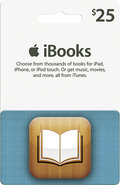 - $25 iTunes and iBookstore Gift Card