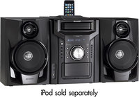 - 240W 5-Disc Compact Stereo/2-Way Speaker System