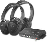 - 900MHz Wireless RF Headphones