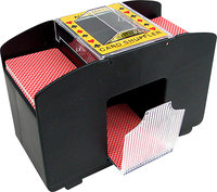 - 4-Deck Automatic Card Shuffler