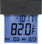 - 306-605 Solar Window Thermometer with Backlight