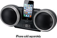- Boombox with FM Radio and Apple iPod and iPhone