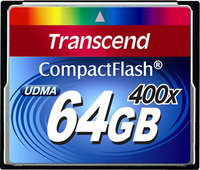 - 64 GB CompactFlash (CF) Card - 1 Card