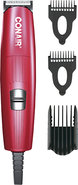 - Corded Beard and Mustache Trimmer - Red