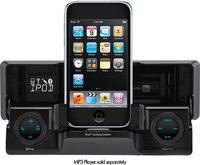 - 60W x 4 MOSFET Apple iPod-Ready In-Dash Deck