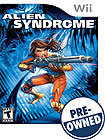 Alien Syndrome - PRE-OWNED - Nintendo Wii