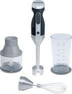 - 2-Speed Hand Blender - Black/Silver
