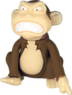 - Monkey 8GB USB 20 Flash Drive - Brown/Cream