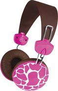 - Macbeth Over-the-Ear Headphones - Pink Giraffe