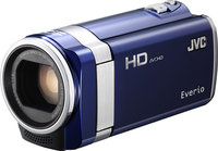 - Refurbished HD Flash Memory Camcorder - Blue