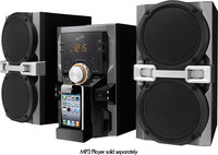 - Mini Hi-Fi System - iPod Supported - Black