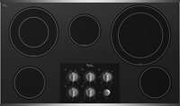 Whirlpool - 36   Built-In Electric Cooktop - Stain