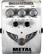 - Metal Embrace Distortion Effect Pedal for Electr