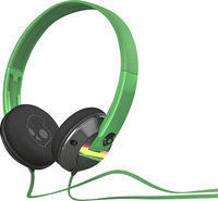 - Uprock Over-the-Ear Headphones - Black/Red/Green