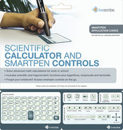 - Livescribe Quick Control Calculator Cards