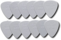 - Nylon Standard Guitar Pick (12-Pack) - Light Gra