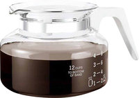 - Universal 12-Cup Replacement Glass Coffee Carafe
