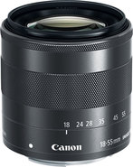 - 18-55mm f/35-56 IS STM EF-M Lens for Canon EOS M