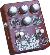 - Two Timer Delay Pedal for Most Electric and Bass
