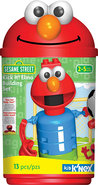 - Kick-It Elmo and Cookie Monster Basketball Kit