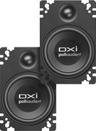 Polk Audio - 4   x 6   Plate-Mounted Speakers with