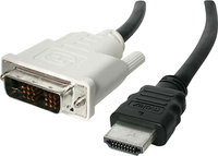 - 50' Male-HDMI-to-Male-DVI Cable - Black