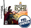History: Great Empires: Rome - PRE-OWNED - Nintend