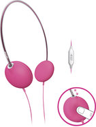 - Headband Headphones - Pink
