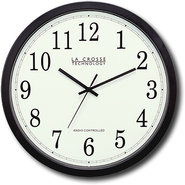 La Crosse Technology - 14   Atomic Analog Clock - 