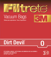 - Filtrete Devil Tattoo Vacuum Bag (3-Pack)