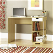 - StudioEdge Juice Computer Desk - Light Brown