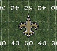 - New Orleans Saints Mouse Pad - Black