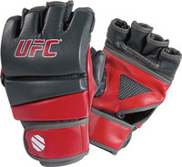 - UFC MMA Practice Gloves (Small/Medium) - Grey/Re