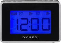 - Digital FM Portable Clock Radio