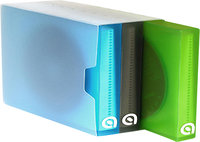 - 36-Disc Media Album Set - Blue/Gray/Green