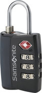 - Travel Sentry 3-Dial Combination Lock - Black