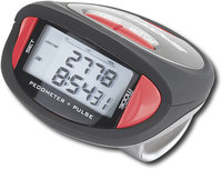 - 356 Pulse Pedometer - Black