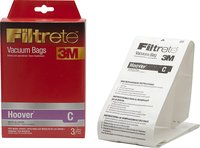 - Filtrete C Vacuum Bag for Select Hoover Vacuums