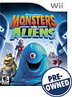 Monsters vs Aliens - PRE-OWNED - Nintendo Wii